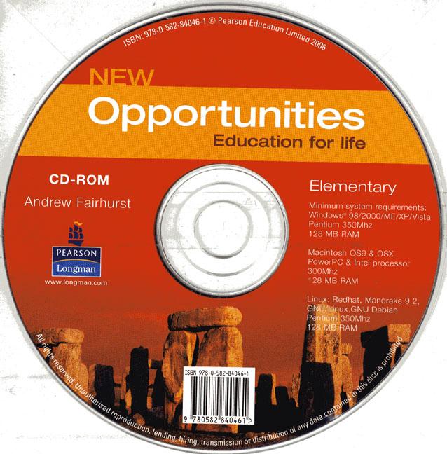 New Opportunities El St CDROM
