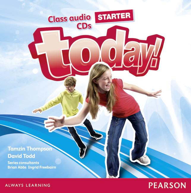 Today! Starter: Class Audio CDs (аудиокурс на 2 CD)