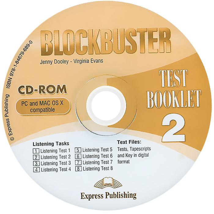 Blockbuster 2: Test Booklet (аудиокурс CD-ROM)
