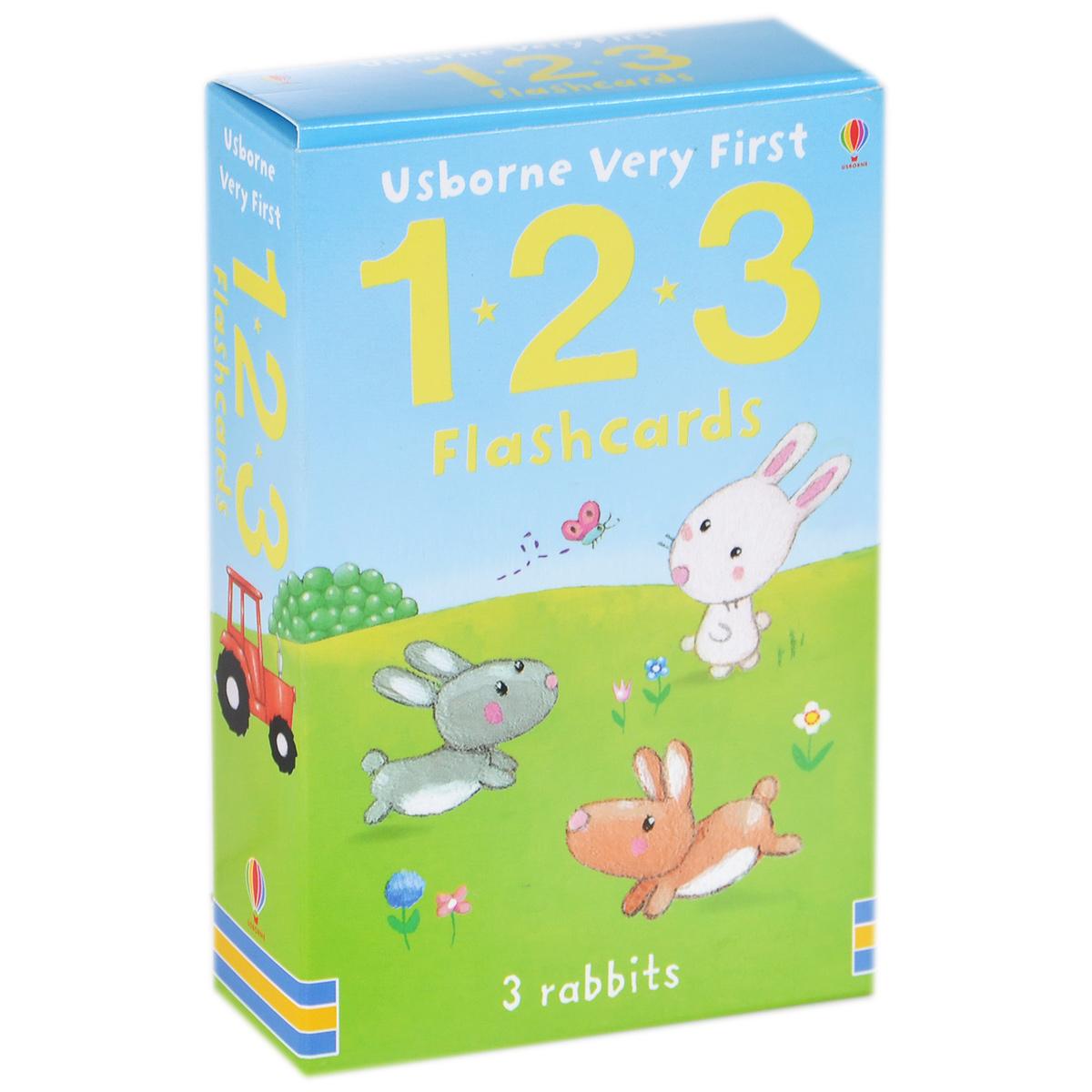 Usborne Very First 1, 2, 3 (набор из 30 карточек)