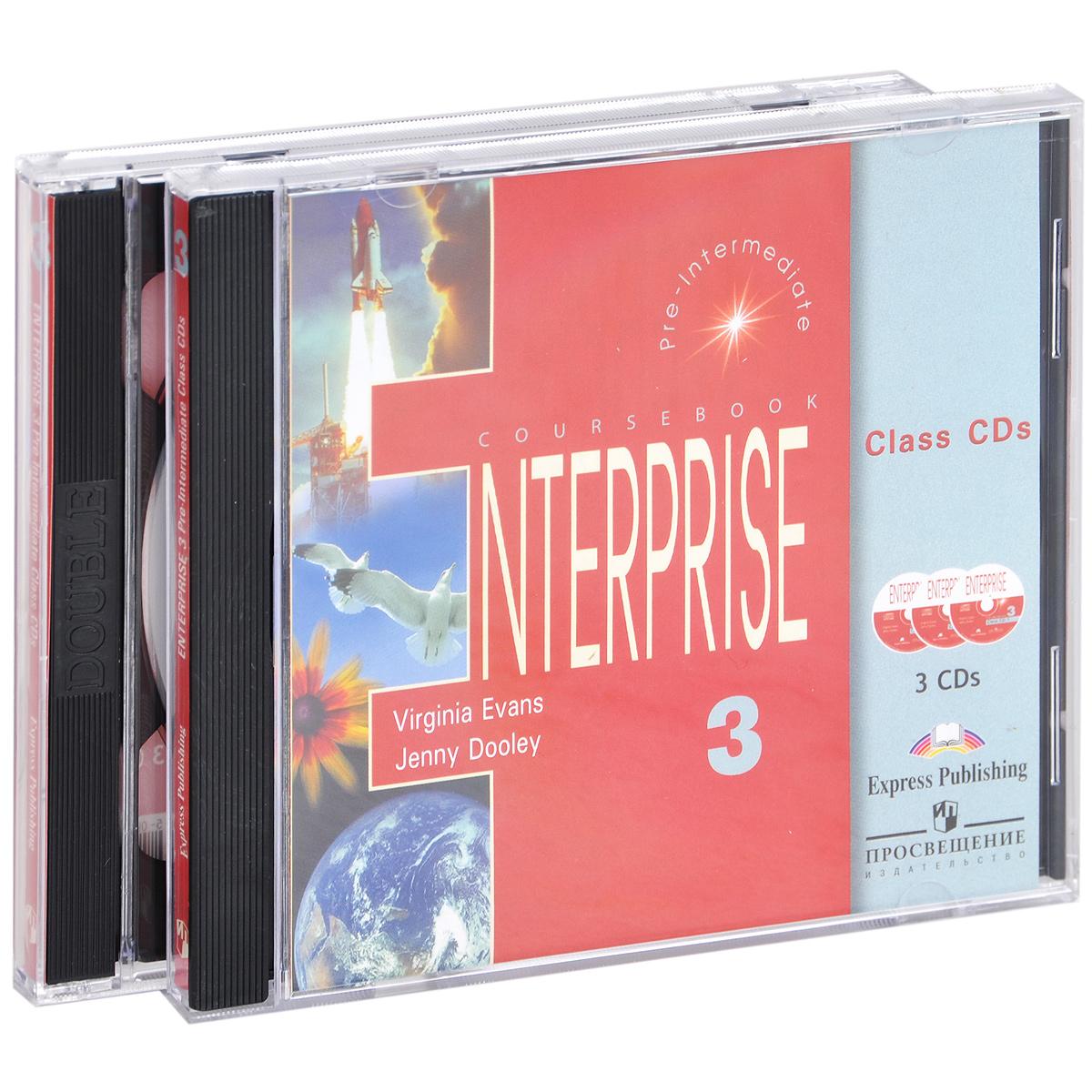 Enterprise 3: Pri-Intermediate: Class Audio CDs (аудиокурс на 3 CD)