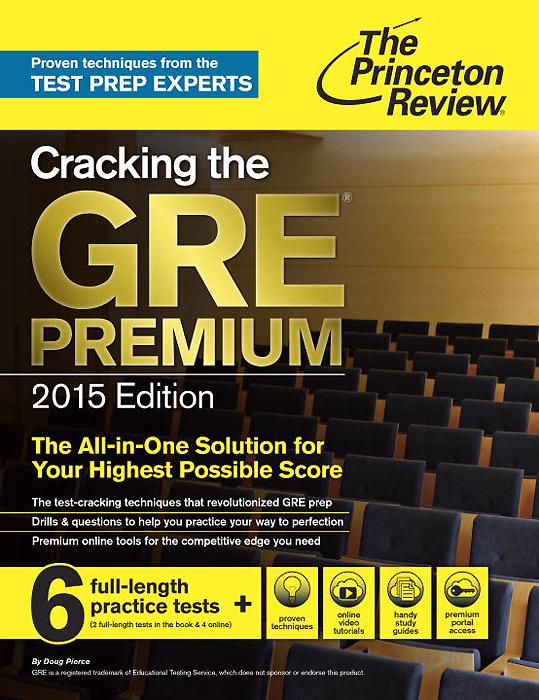 Cracking the GRE Premium 2015