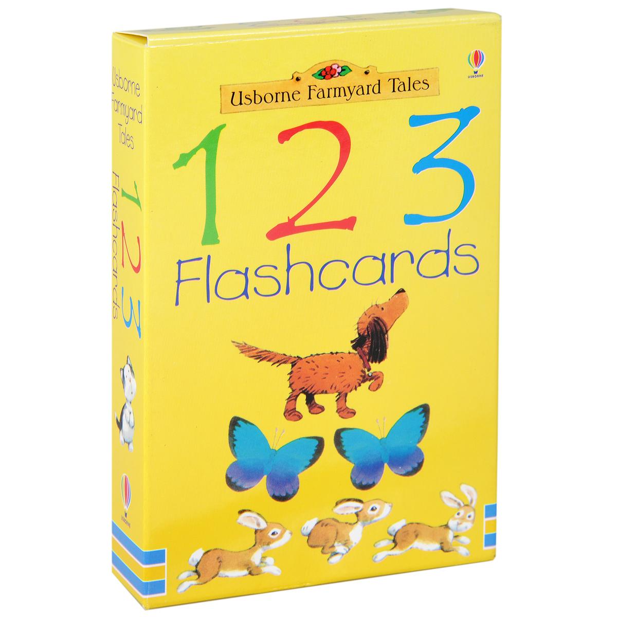 123 Flashcards (набор из 50 карточек)