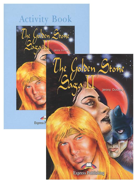 The Golden Stone Saga II: Level 4 (комплект из 2 книг + 2 CD)