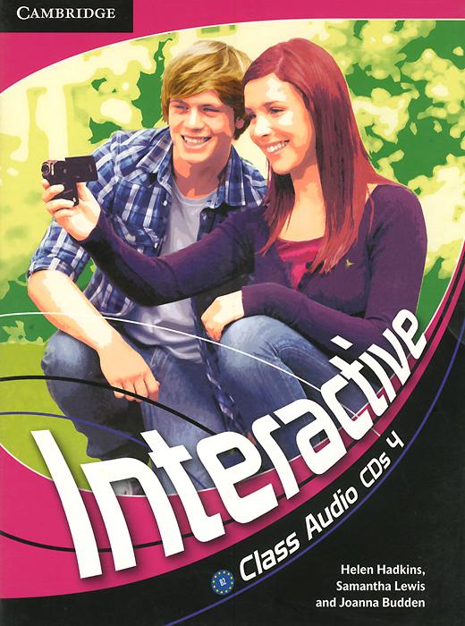 Interactive: Level 4: Class Audio CDs (��������� �� 3 CD)