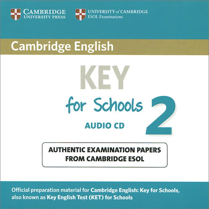 Key for Schools 2 (аудиокурс CD)
