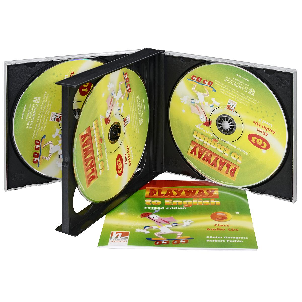 Playway to English: Level 3: Class Audio CDs (аудиокурс на 3 CD)