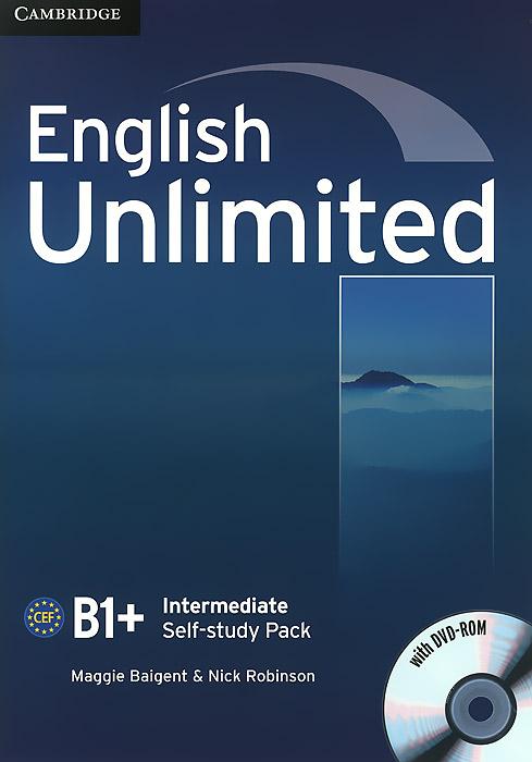 English Unlimited: Intermediate B1+: Self-study Pack (+ DVD-ROM)
