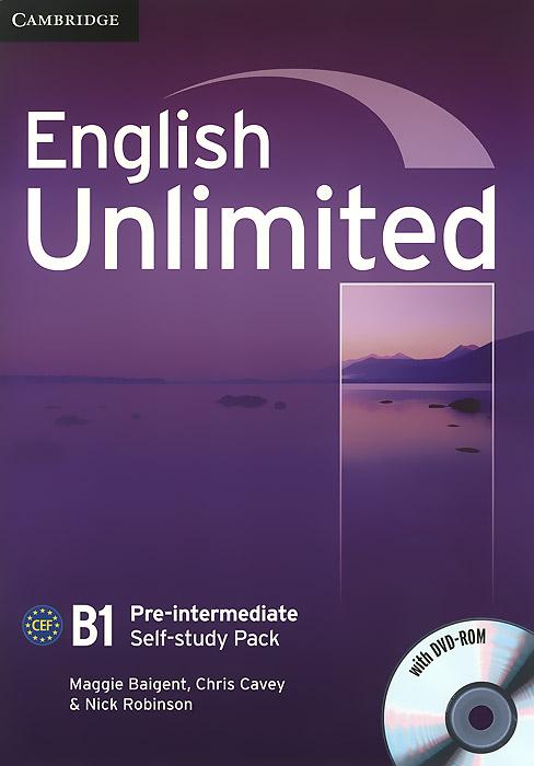 English Unlimited: Pre-Intermediate: Self-study Pack (+ DVD-ROM)