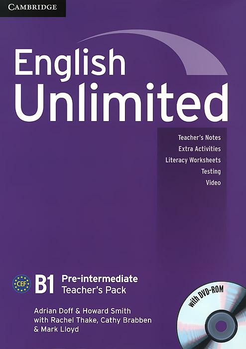 English Unlimited: Pre-intermediate B1: Teacher's Pack (+ DVD-ROM)