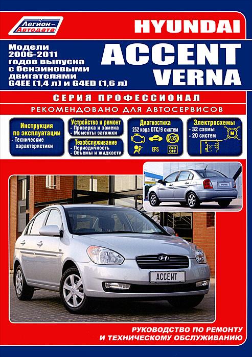 Hyundai Accent / Verna. ������ 2006-2011 ��. ������� � ����������� ����������� G4EE (1,4 �), G4ED (1,6 �). ����������� �� ������� � ������������ ������������