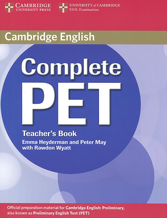 Complete PET: Teacher's Book