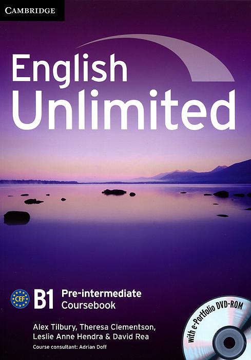English Unlimited Pre-Int CB +e-Portfolio +Online WB Pack
