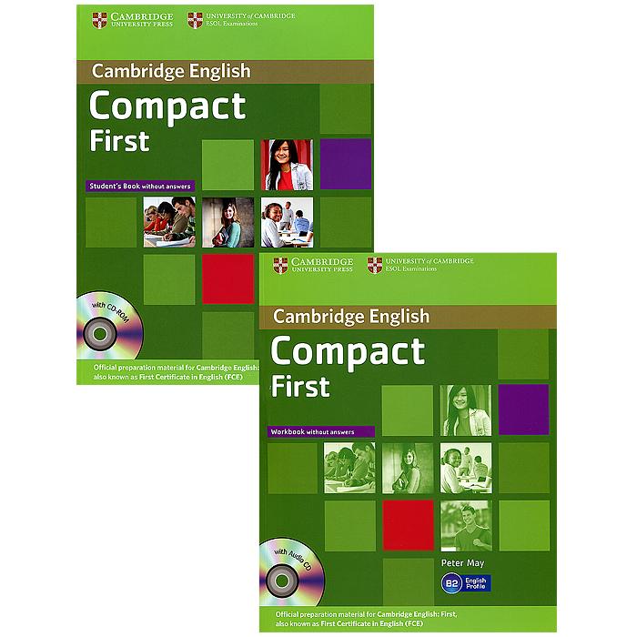 Compact First: Student's Pack (комплект из 2 книг + 2 CD-ROM)