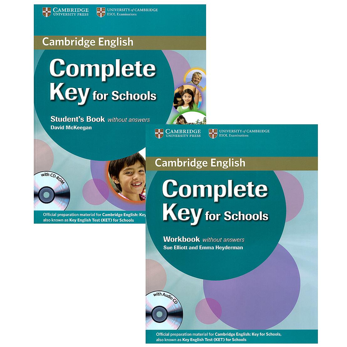 Complete Key for Schools (комплект из 2 книг + 2 CD)