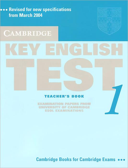 Key English Test 1: Teacher's Book