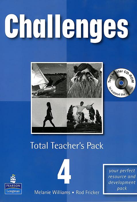 Challenges 4: Total Teacher's Pack (+ CD-ROM)