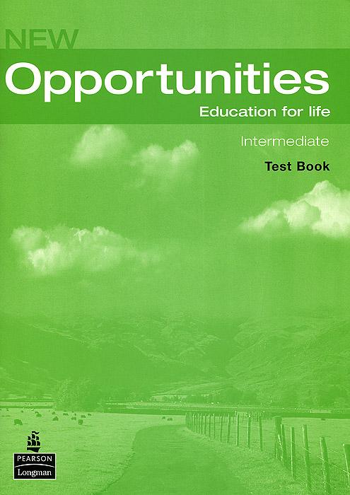 New Opportunities: Intermediate: Test Book (+ CD)