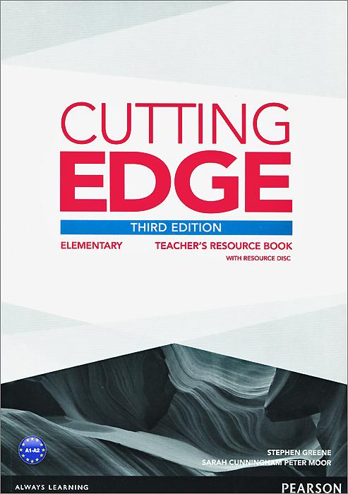 Cutting Edge: Elementary: Teacher's Book (+ CD-ROM)
