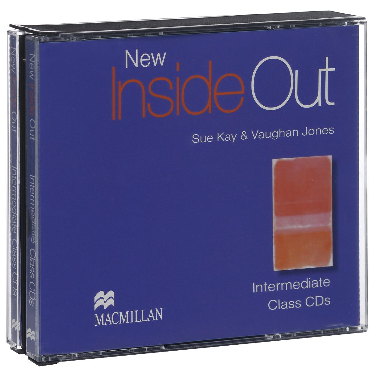 New Inside Out: Intermediate: Class CDs (аудиокурс на 3 CD)