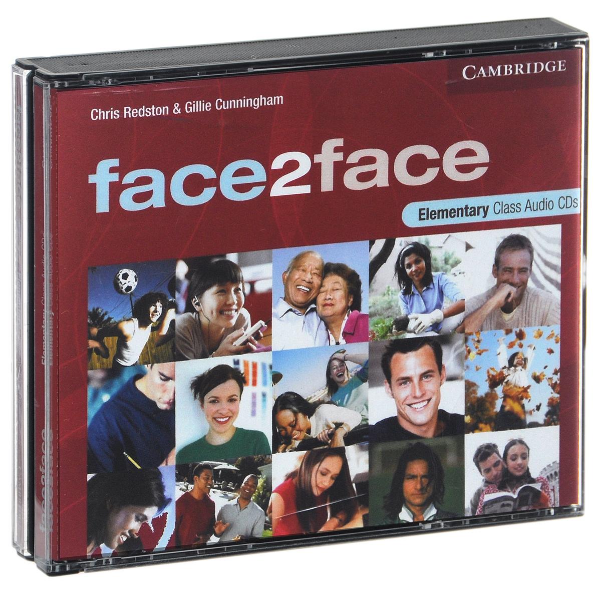 Face2Face: Elementary (аудиокурс на 3 CD)