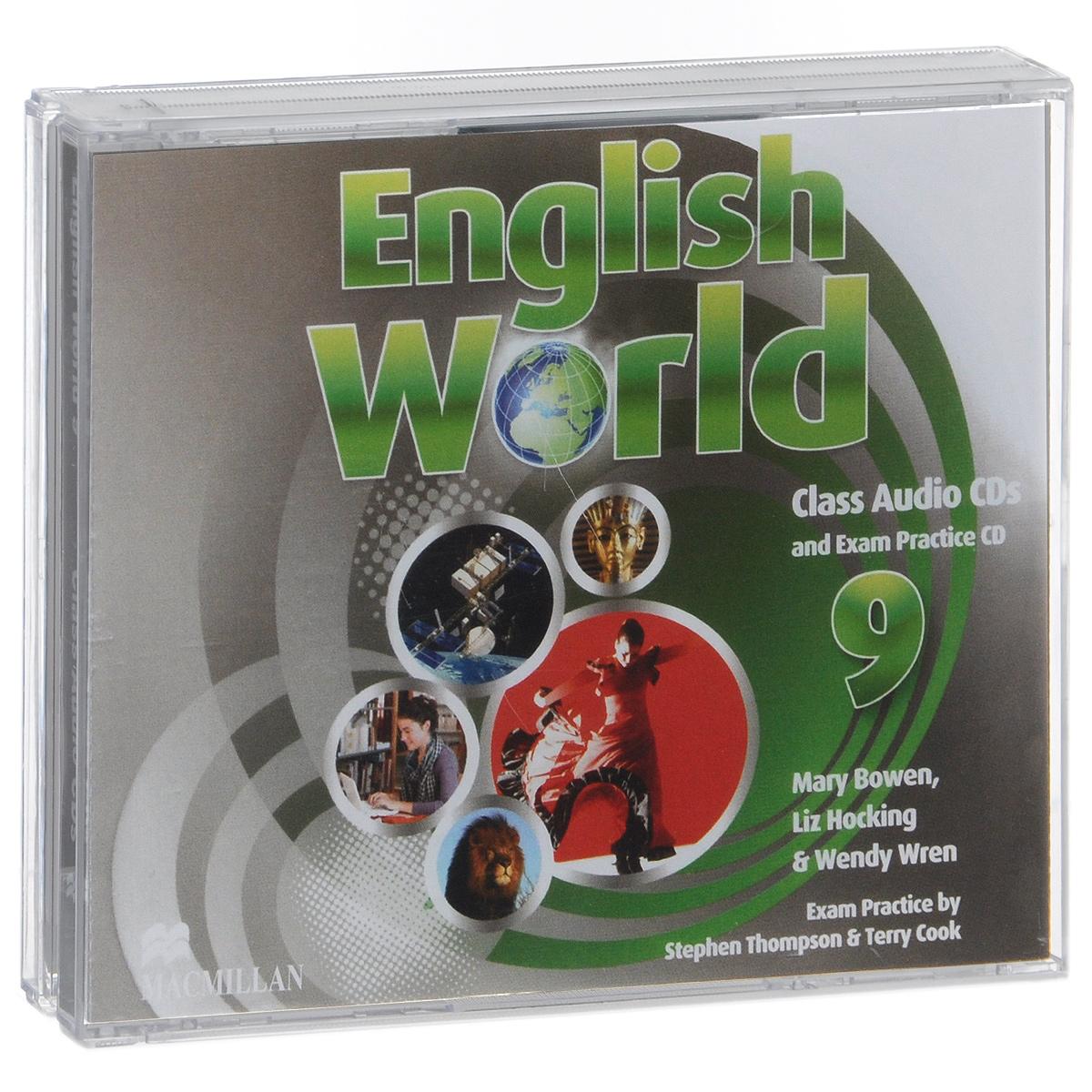English World 9: Class Audio CDs and Exam Practice CD (аудиокурс на 3 CD)