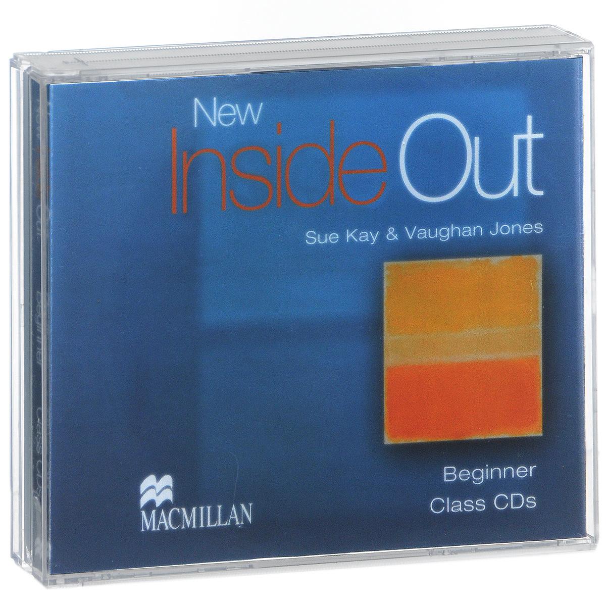 New Inside Out: Beginner: Class CDs (аудиокурс на 3 CD)