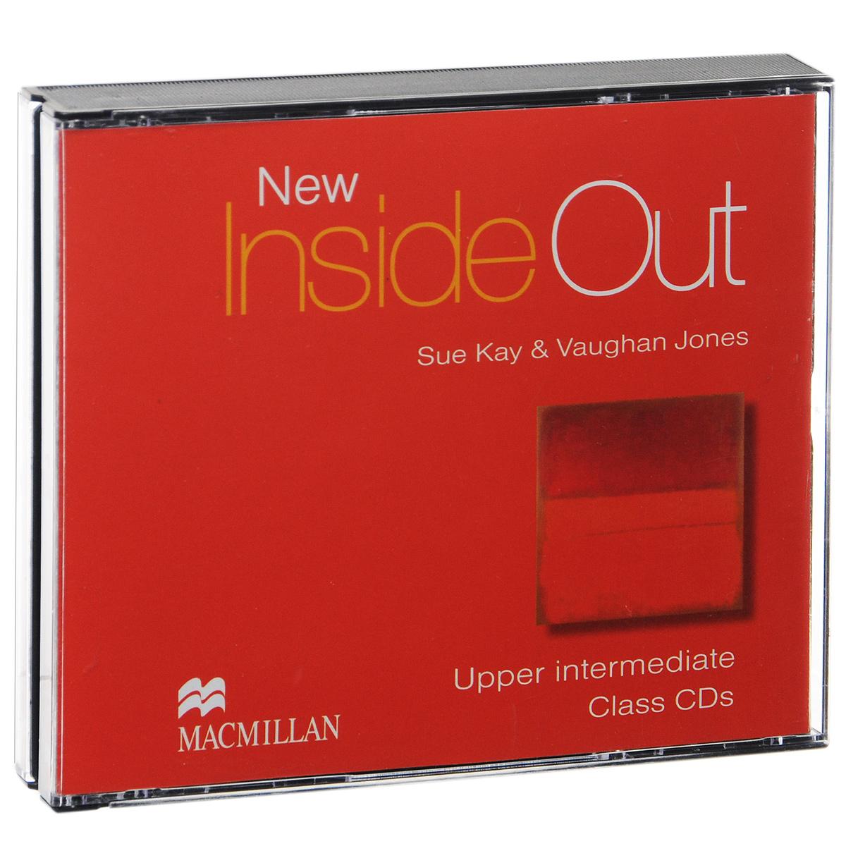 New Inside Out: Upper-Intermediate: Class CDs (аудиокурс на 3 CD)