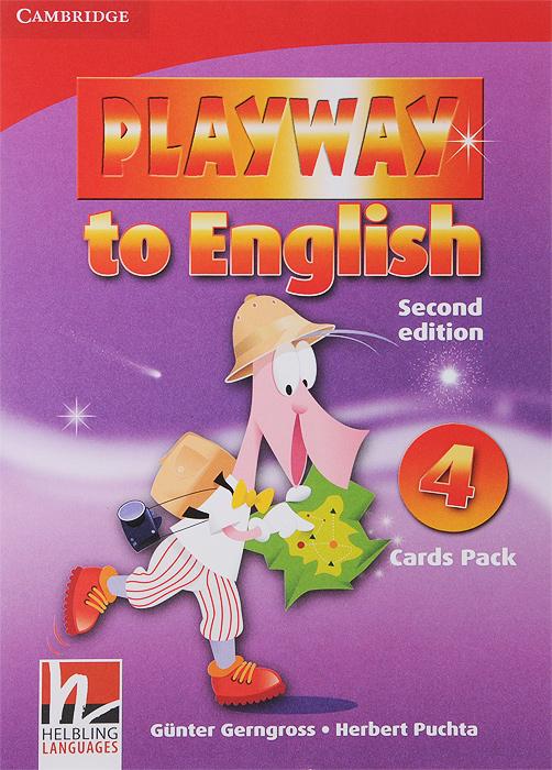 Playway to English 4: Flash Cards (набор из 106 карточек)