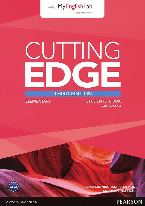Cutting Edge: Elementary: Student's Book with MyEnglishLab (+ DVD-ROM)