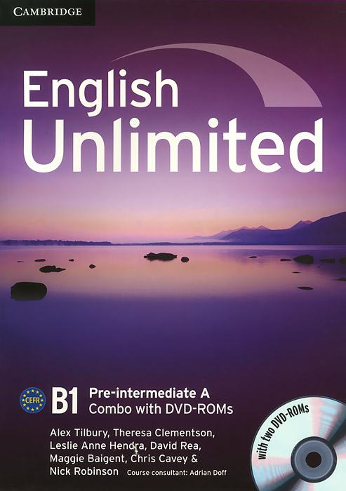 English Unlimited: Pre-intermediate A: Combo (+ 2 DVD-ROM)