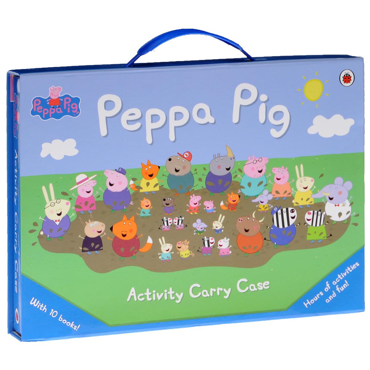 Peppa Pig: Activity Carry Case (комплект из 10 книг)