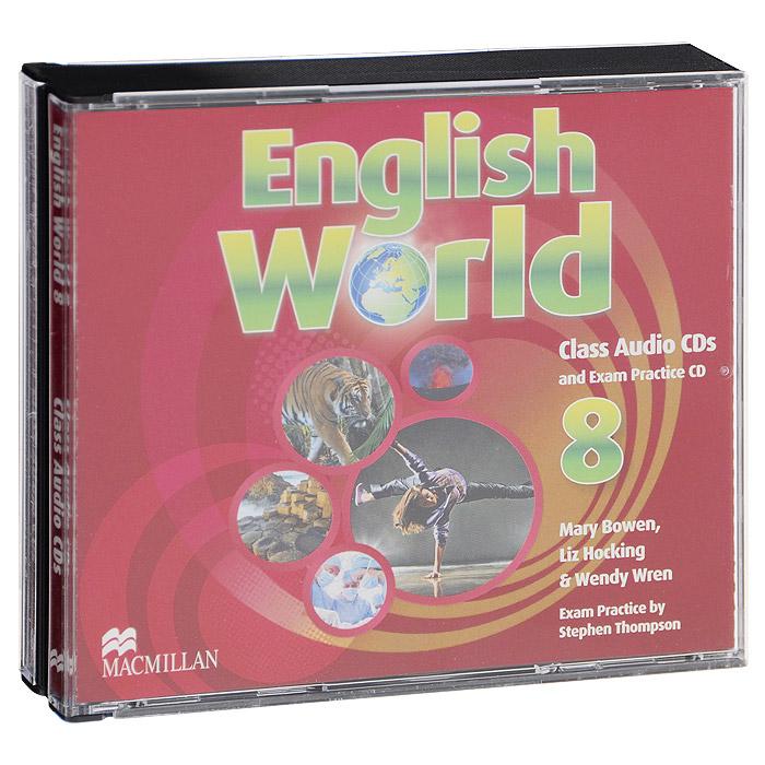 English World 8: Class Audio CDs and Exam Practice CD (аудиокурс на 3 CD)