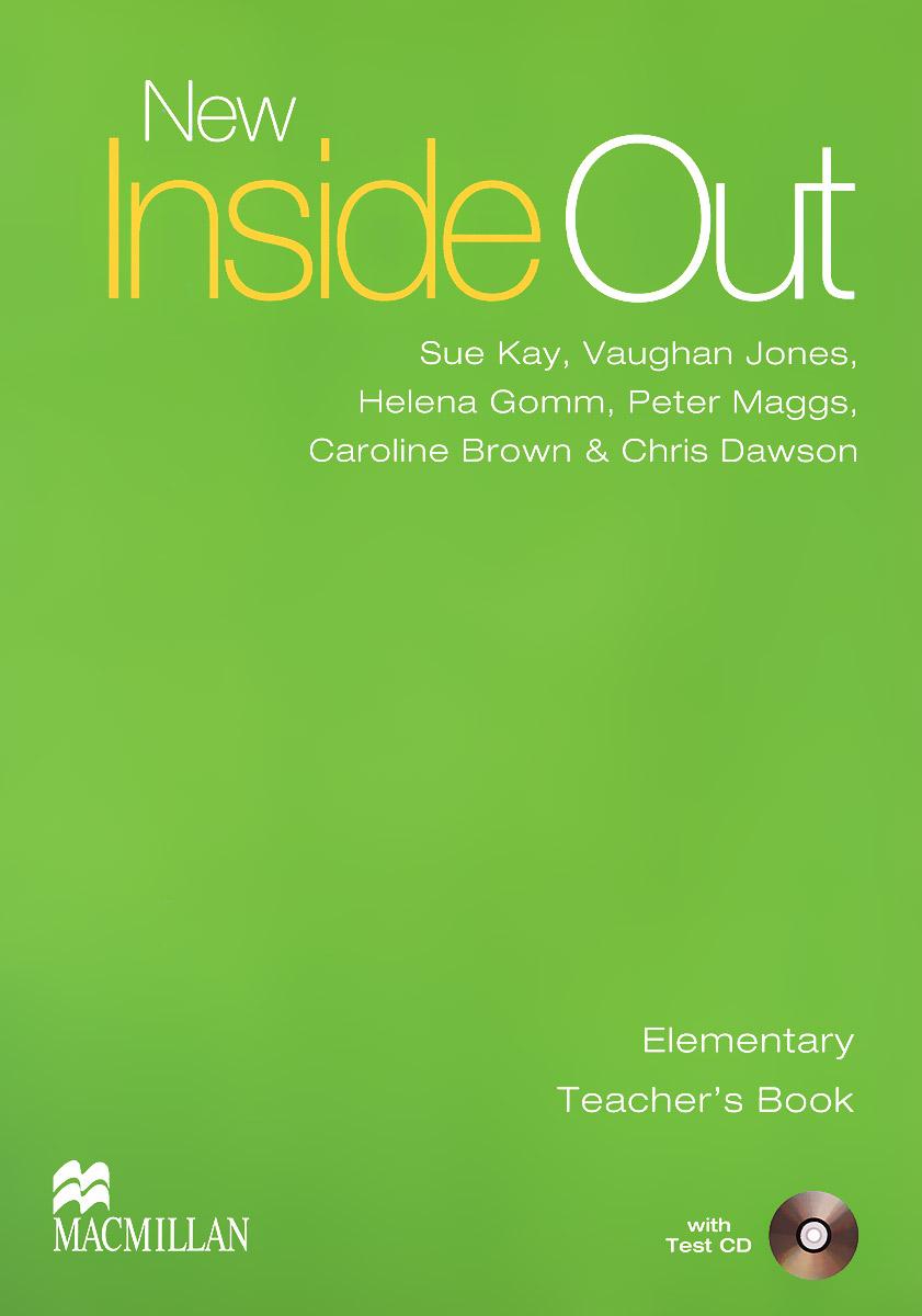 New Inside Out: Elementary: Teacher's Book (+ CD)