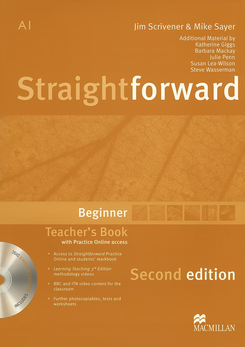 Straightforward: Beginner: Teacher's Book (+ DVD-ROM)
