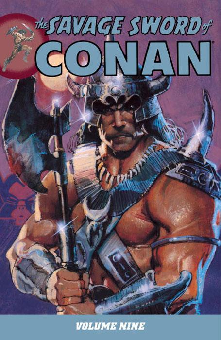 Savage sword of conan v 9