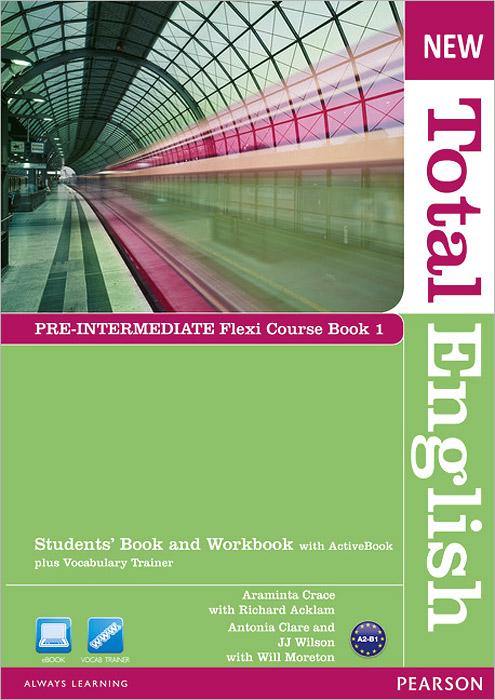 New Total English: A2-B1:Pre-Intermediate Flexi Course Book 1 (+ DVD-ROM)