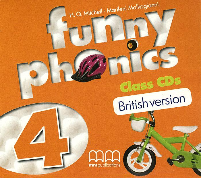 Funny Phonics 4 (Аудиокурс на 2 СD)