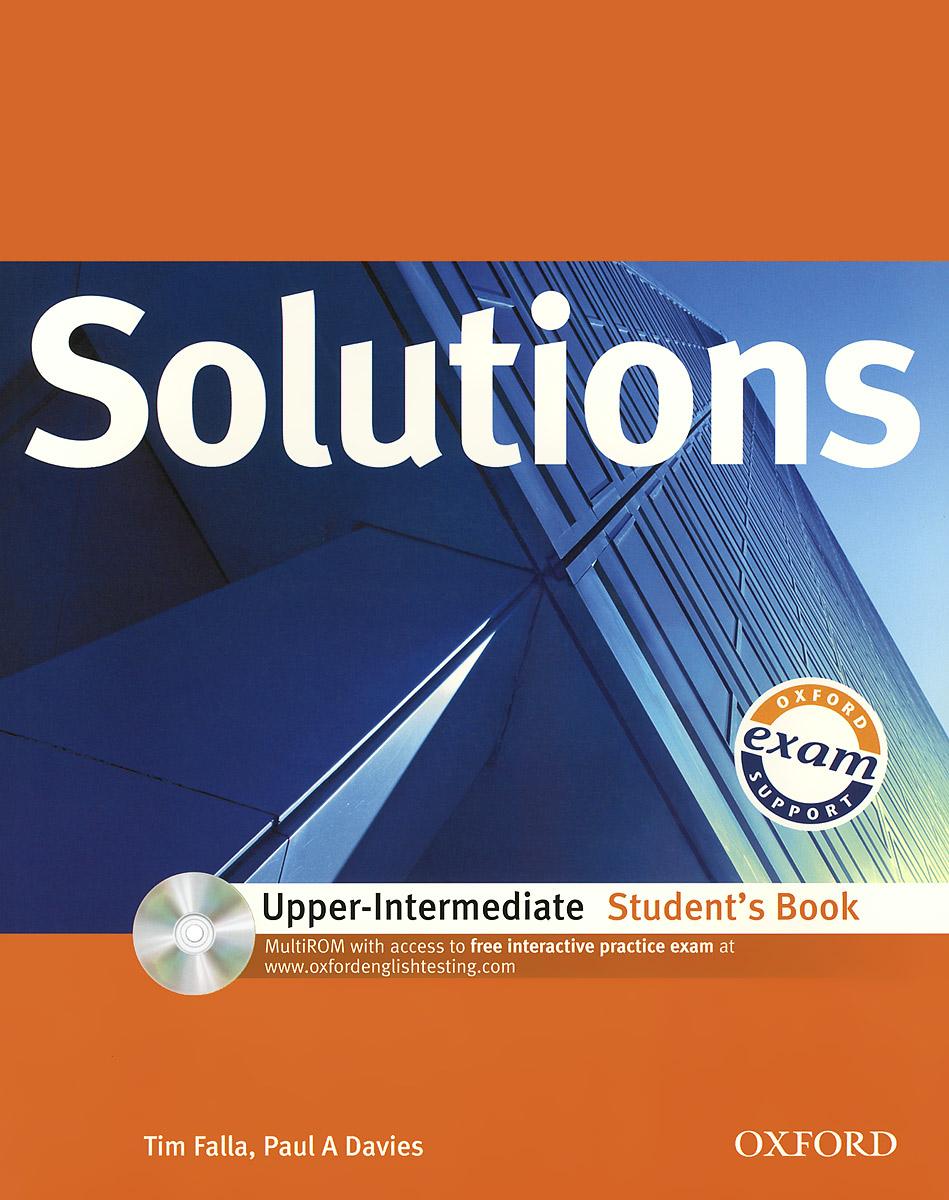 Solutions: Upper-intermediate: Students Book (+ CD-ROM)