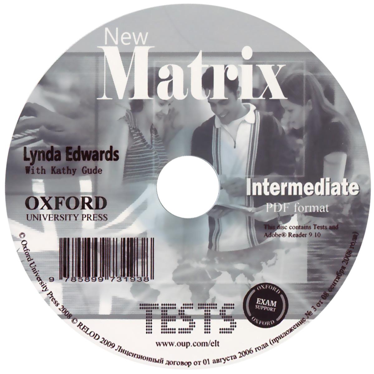 New Matrix: Intermediate Tests (курс в формате PDF)