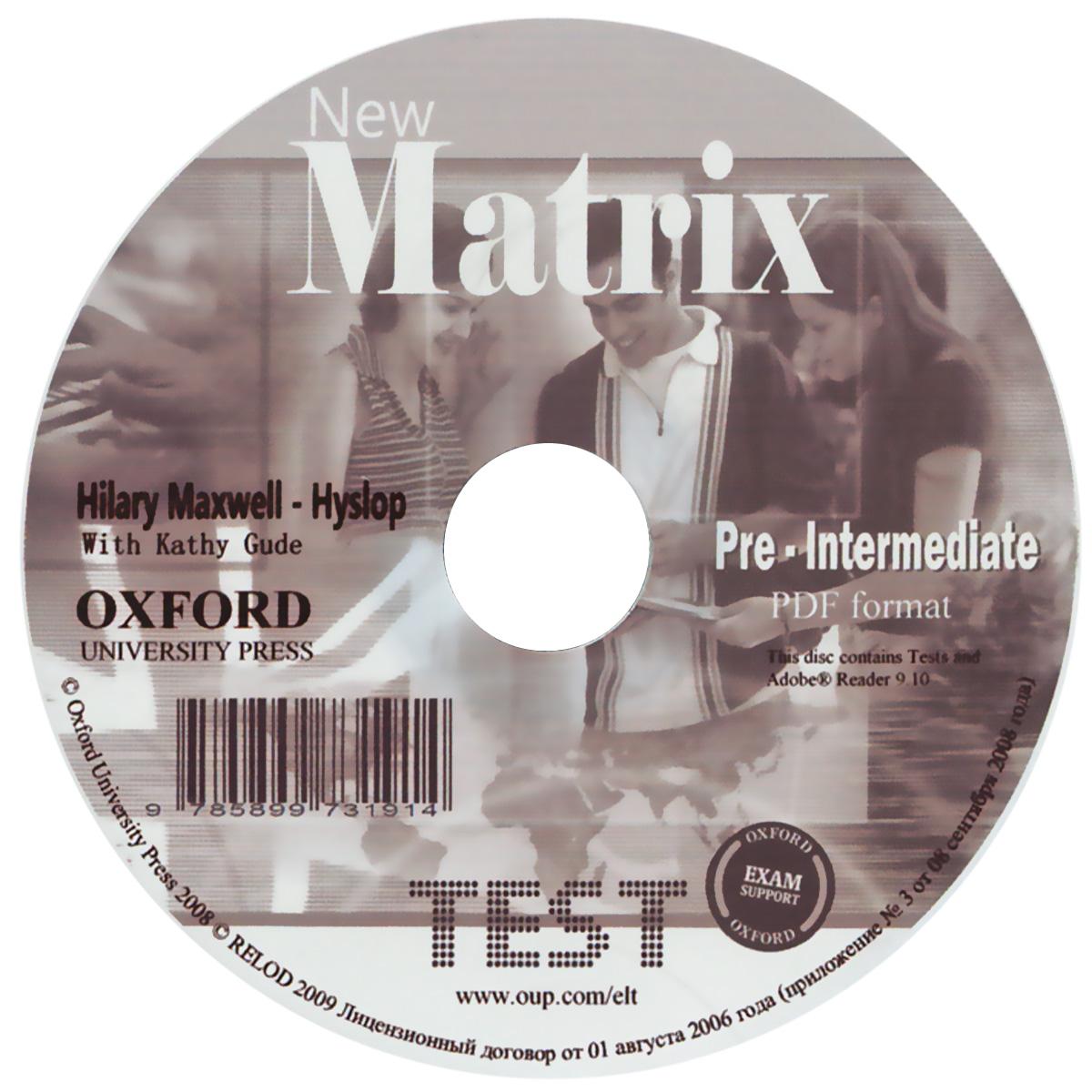 New Matrix: Pre-Intermediate Tests (курс в формате PDF)