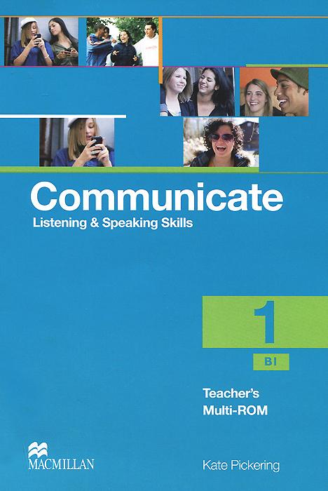 Communicate 1: Listening and Speaking Skills: Teacher's Multi-ROM
