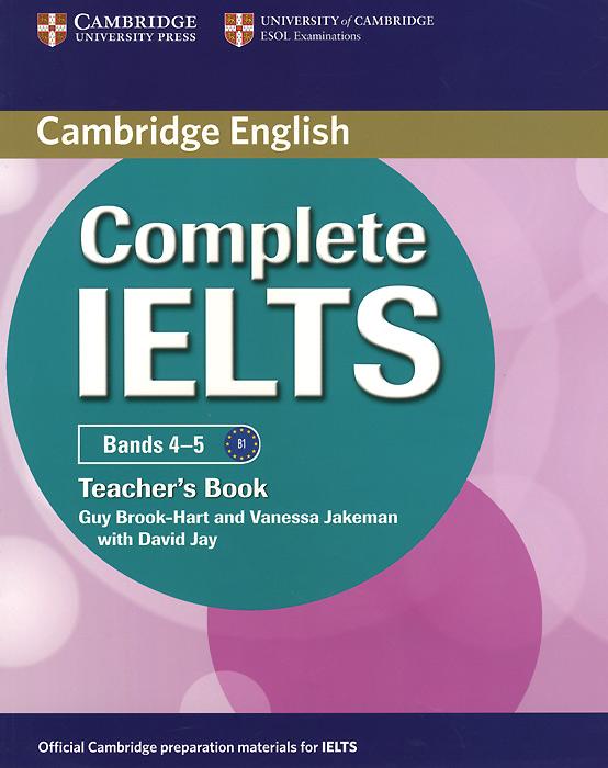 Complete IELTS: Bands 4-5: Teacher's Book