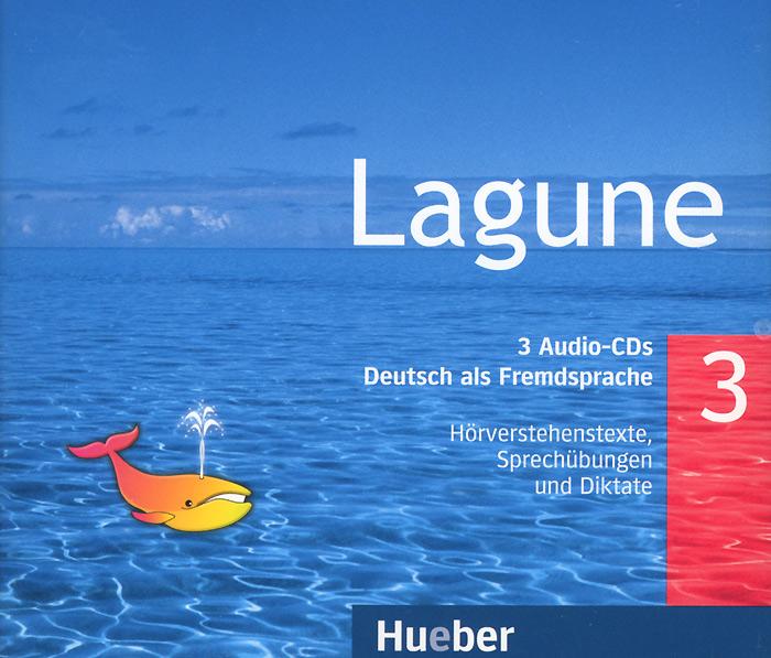Lagune 3: Horverstehenstexte, Sprechbungen und Diktate (аудиокурс на 3 CD)