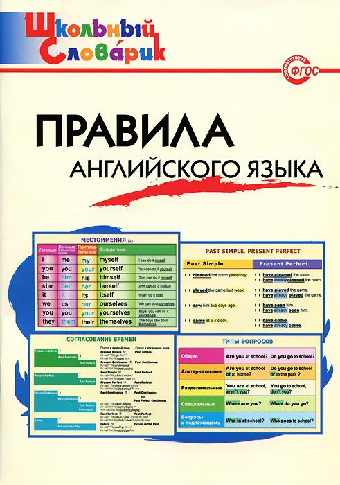Правила английского языка. Начальная школа