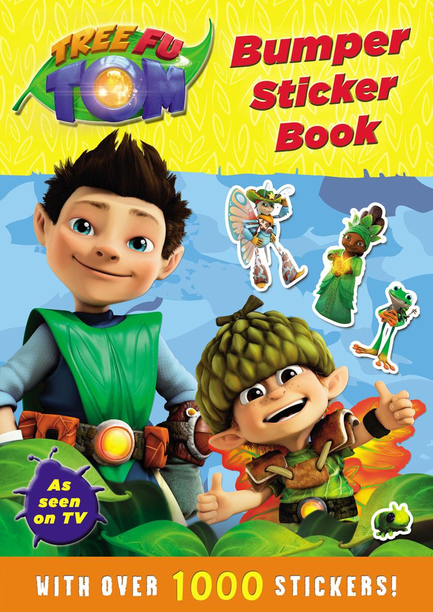 Tree Fu Tom: Bumper Sticker Book