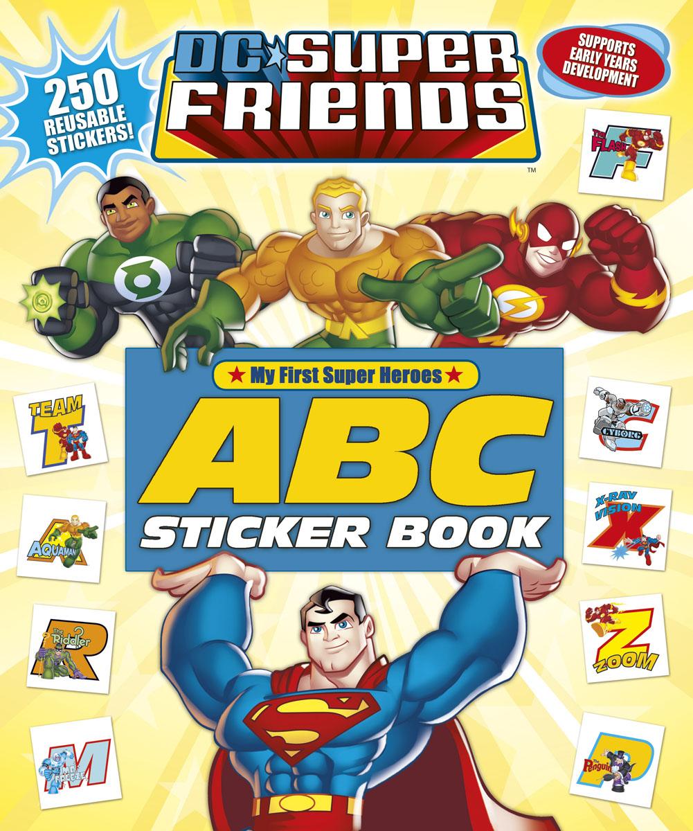 DC Super Friends: ABC Sticker Book