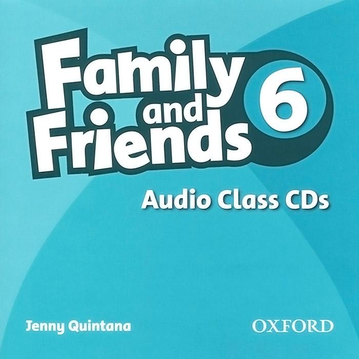 Family and Friends 6: Audio Class CD (аудиокурс на 2 CD)