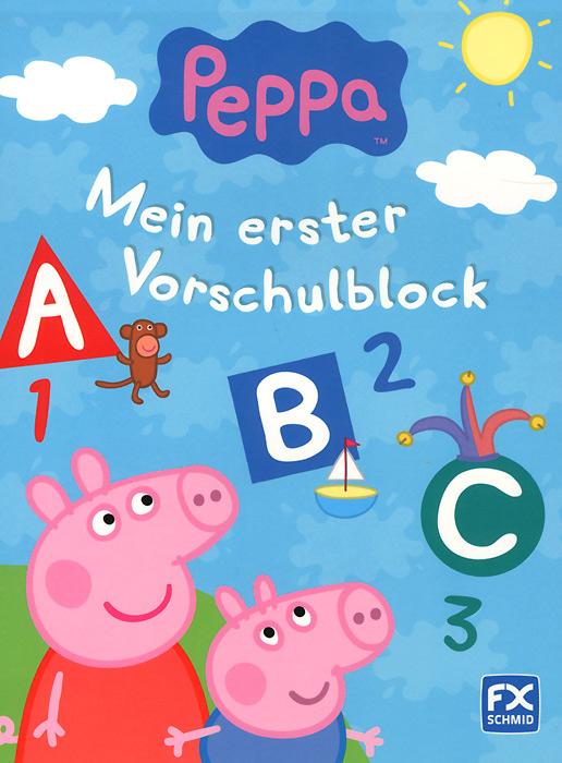 Peppa: Mein erster Vorschulblock ( 978-3-8380-7027-8, 3838070275 )