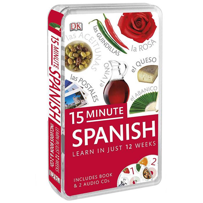 15-Minute Spanish (+ аудиокурс на 2 CD) ( 978-1-4093-8169-3 )
